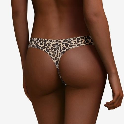 Chantelle Soft Stretch String Leopard takaosa