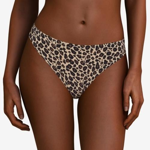 Chantelle Soft Stretch String Leopard